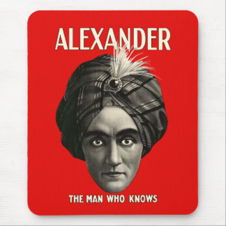 Alexander - The Man Who Knows Mouse Pad
