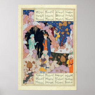 Alexander Visits a Hermit Poster