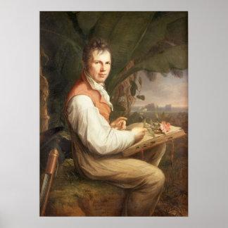 Alexander von Humboldt Poster