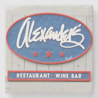 Alexander's Seafood Restaurant,Bar, Hilton Head,SC Stone Coaster