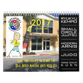 Alexander's The Ryukyu Dojo II 2017 Calendar