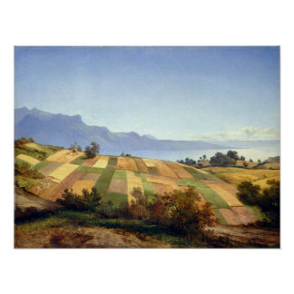 Alexandre Calame Swiss Landscape Poster
