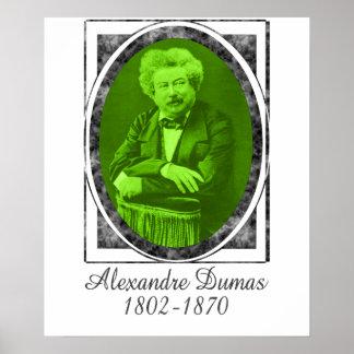 Alexandre Dumas Poster