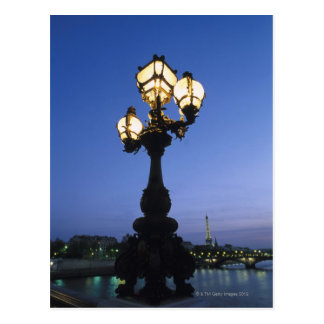 Alexandre III Bridge in Paris Postcard