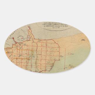 alexandria1866 oval sticker