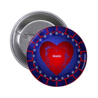 Alexandria Pinback Button
