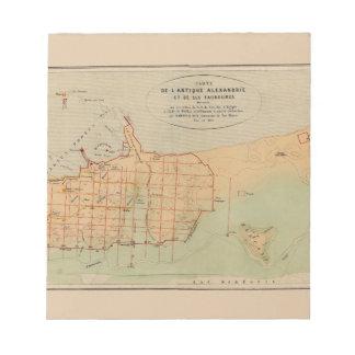 Alexandria Egypt 1866 Notepad