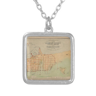 Alexandria Egypt 1866 Silver Plated Necklace