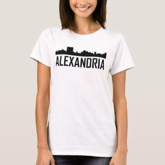 Alexandria Louisiana City Skyline T-Shirt