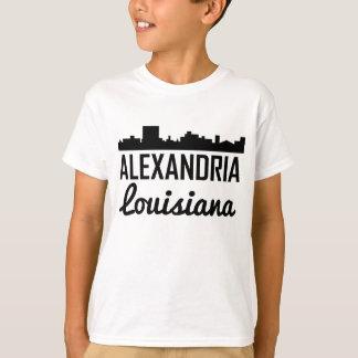 Alexandria Louisiana Skyline T-Shirt