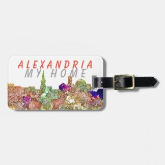 Alexandria Skyline SG-Faded Glory - Bag Tag