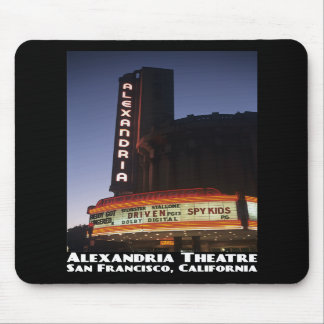 Alexandria Theatre, SF Mousepad