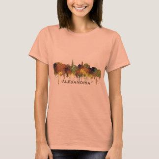 Alexandria, Viirginia Skyline - SG - Safari Buff T-Shirt