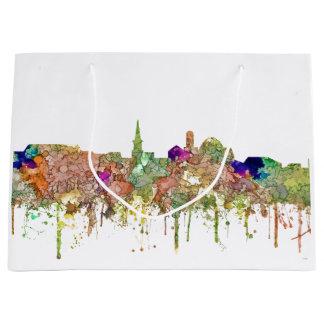 Alexandria Virginia Skyline SG-Faded Glory Large Gift Bag