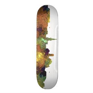 Alexandria, Virginia Skyline - SG - Safari Buff 21.3 Cm Mini Skateboard Deck