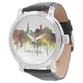 Alexandria, Virginia Skyline - SG - Safari Buff Watch