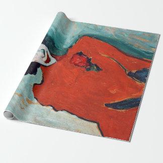Alexej Jawlensky Portrait of the Dancer Aleksandr Wrapping Paper