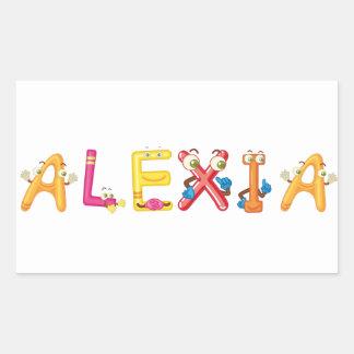 Alexia Sticker