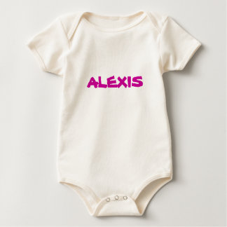 Alexis Baby Girl name shirt