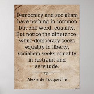 Alexis de Tocqueville Print
