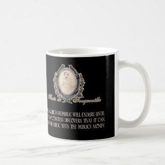 Alexis de Tocqueville Quote: America's Lifetime Coffee Mug