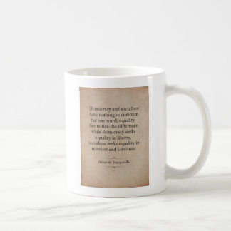 Alexis de Tocqueville Quote Coffee Mug