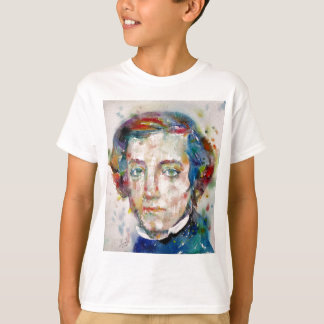 alexis de tocqueville - watercolor portrait T-Shirt