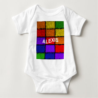 ALEXIS ( female names ) Baby Bodysuit