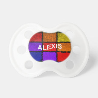 ALEXIS ( female names ) Baby Pacifiers