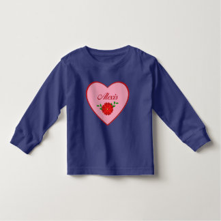 Alexis (heart) toddler T-Shirt