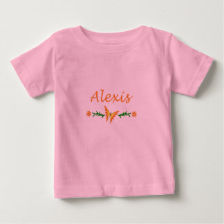 Alexis (Orange Butterfly) Baby T-Shirt