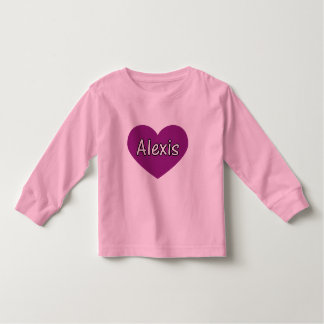 Alexis Toddler T-Shirt