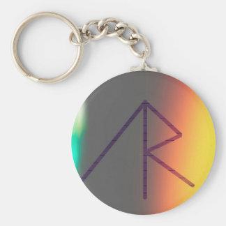 AlexisRoseMusic cap1 Basic Round Button Key Ring