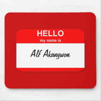 Alf Akanywon Mouse Pads