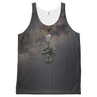 Alfa alien universe builder All-Over print singlet