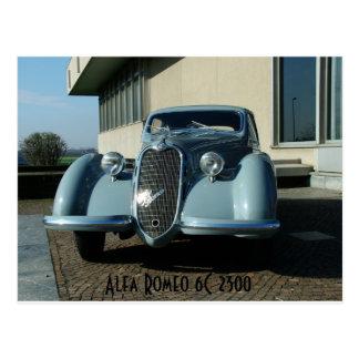 Alfa Romeo 6C 2300 Postcard