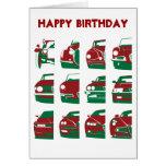 Alfa Romeo - Birthday Card