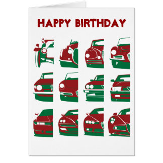 Alfa Romeo - Birthday Card