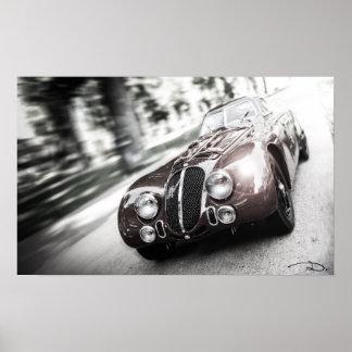 Alfa speed - dark - poster