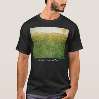 Alfalfa Fields Saint Denis by Georges Seurat T-Shirt