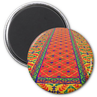 Alfombras de La Antigua 3 6 Cm Round Magnet