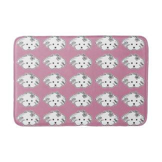 Alfonbrilla pink bath small dog, the world of Lua Bath Mat