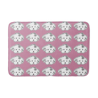 Alfonbrilla pink bath small dog, the world of Lua Bath Mats