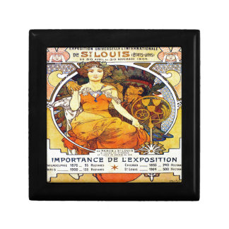 Alfons Mucha 1903 Exposition Universelle Gift Box