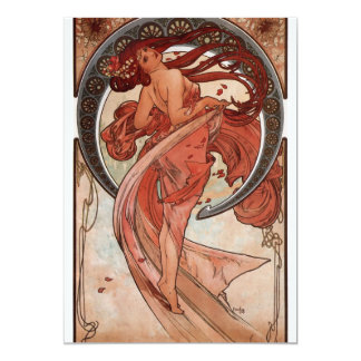 Alfons Mucha Dance Card
