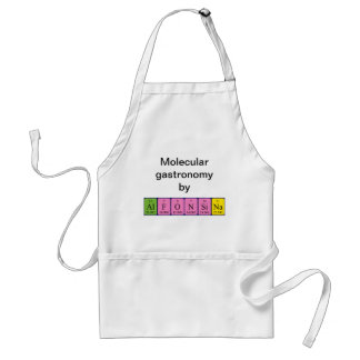 Alfonsina periodic table name apron