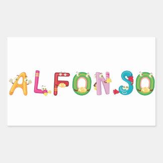 Alfonso Sticker
