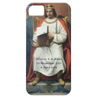 Alfonso x el Sabio Barely There iPhone 5 Case
