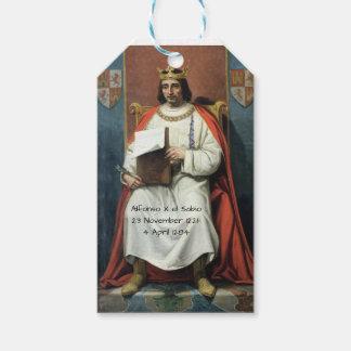 Alfonso x el Sabio Gift Tags