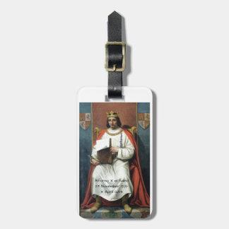Alfonso x el Sabio Luggage Tag